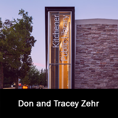 Don and Tracey Zehr